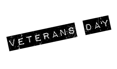 Veterans Day rubber stamp