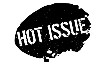 Hot Issue rubber stamp