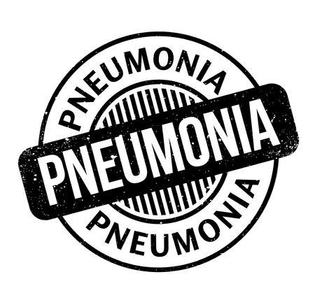 Pneumonia rubber stamp