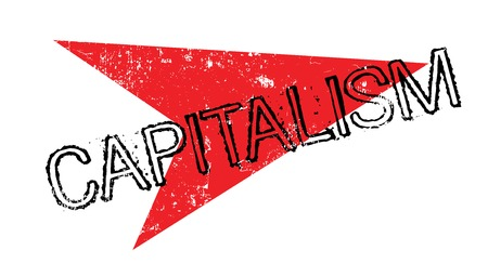 Capitalism rubber stamp