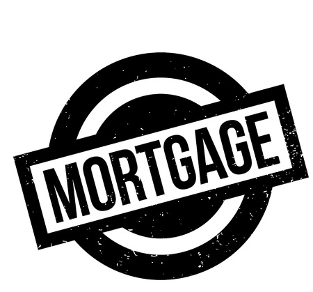 Mortgage rubber stamp