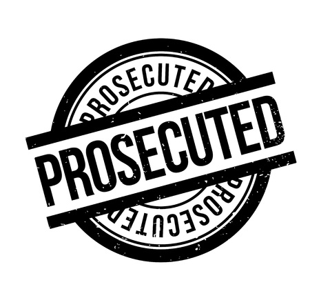Prosecuted rubber stamp. Grunge design with dust scratches. Effects can be easily removed for a clean, crisp look. Color is easily changed.