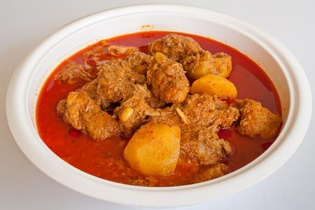 Massam curry, Thai style food