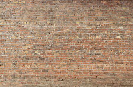 Photo pour Old red brick wall background texture close up - image libre de droit