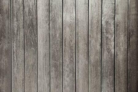 Photo pour Old dark grey wooden wall background texture close up - image libre de droit