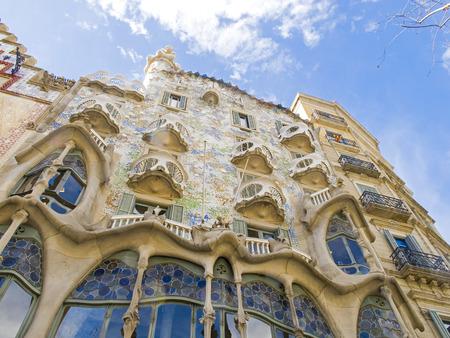 Landmark by Gaudi in Barcelona 0611