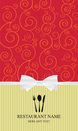 Design an elegant menu & label
