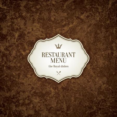 Foto de Restaurant menu design - Imagen libre de derechos