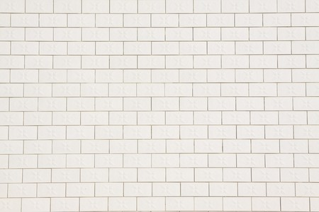 white ceramic tile wall, creative picture rural north china