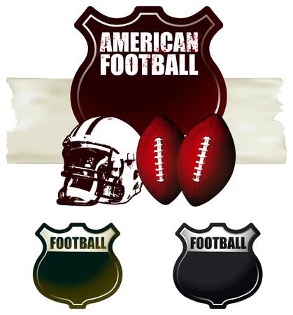 american football shields