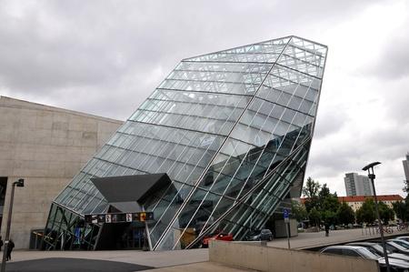 The Dresden ,Germany- Juni 03, 2009 :Ufa-Kristallpalast - Kinobau