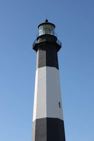 The lighthouse at Tybee Island, Georgia