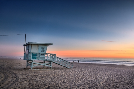Lifeguard Tower at Venice Beach