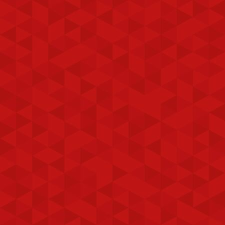 Illustration for Red Polygon Mosaic Bacground, Business Design Template, Low Poly Style Illustration - Vector - Royalty Free Image