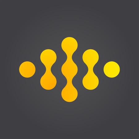 Link connection logo concept