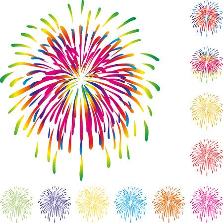 Fireworks, explosion, background