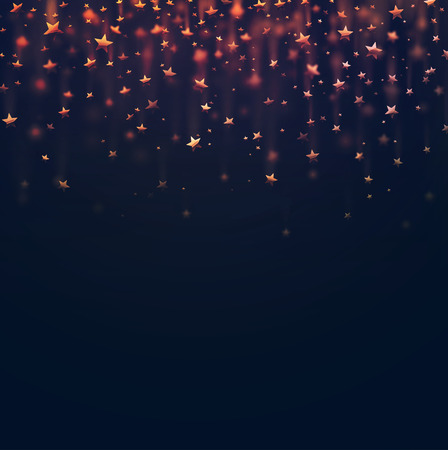 Stars abstract background, eps 10