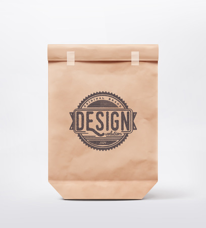 Paper bag for design,