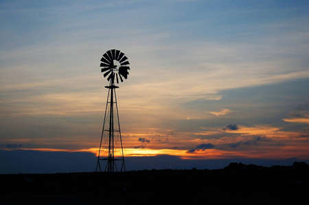 windmill in west of texas
