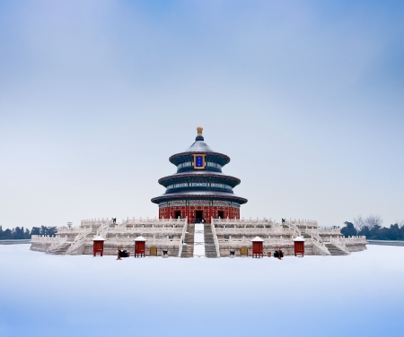 Ancient Chinese emperors to pray for bumper grain harvest of the place: the Temple of Heaven Qi Niandian