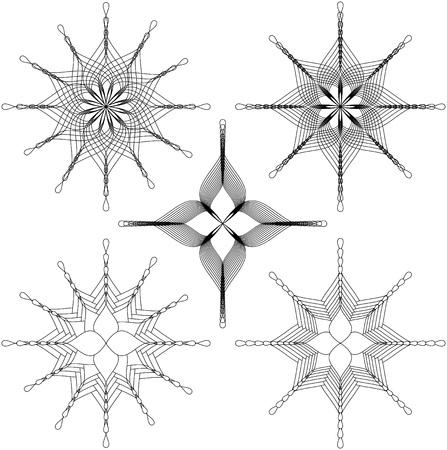 Illustration pour Flower spirals - image libre de droit