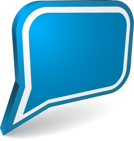 Illustration for Speech bubble - Royalty Free Image