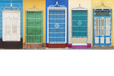 Colonial architecture of Cuba, Trinidad windows