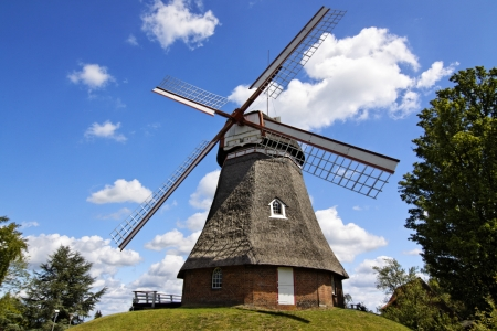 windmill in Northern Germany