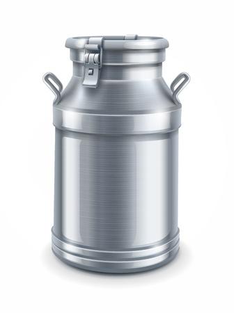Vektor für can container for milk isolated on white background   - Lizenzfreies Bild