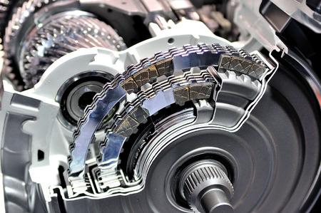Photo pour Cross section of an automatic transmission. - image libre de droit