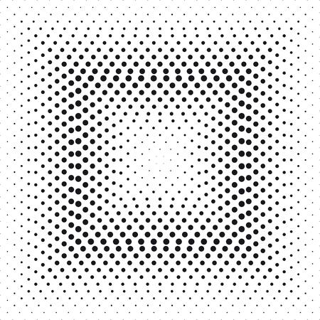 Halftone effect square