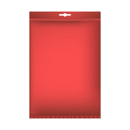 Package mock up. Vector illustration