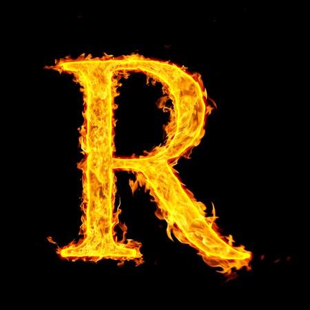 r ,fire letter