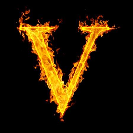 v ,fire letter