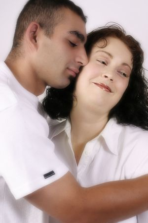Tenderness - Couple in loving embrace -  soft diffusion added