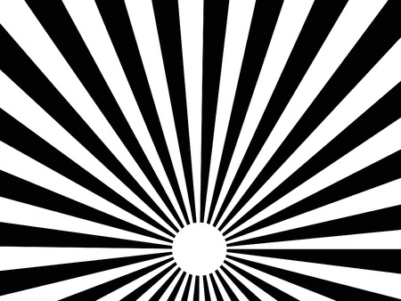 vector abstract background of black sun burst rays