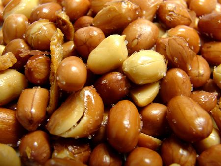 Red Salted Peanuts