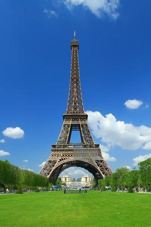 Photo pour Tour Eiffel - image libre de droit