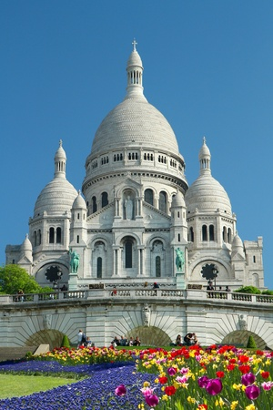 Sacre Ceure cathedral in Paris