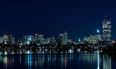 Foto de Boston Skyline 1 - Imagen libre de derechos