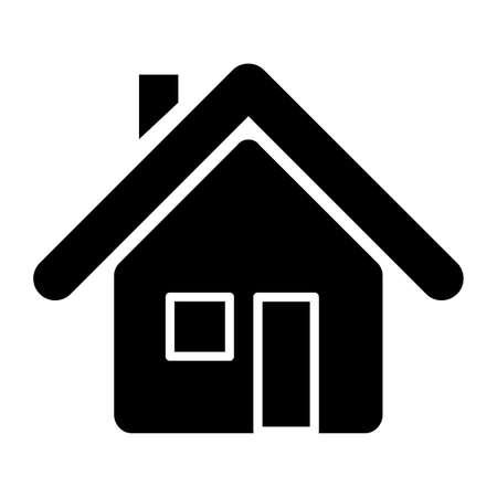 Illustration pour Stay at home icon. Vector illustration. - image libre de droit