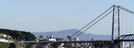 Bridge in Florianopolis - Panoramic
