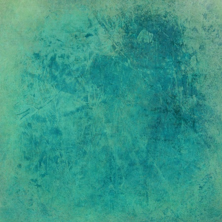 Washed blue grunge textured background print on paper