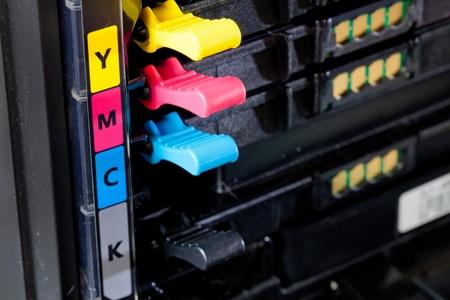 Cmyk cartridges for laser printer