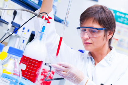 Laboratory research and development of cell therapy