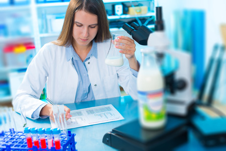 microbiological and chemical quality control of milk