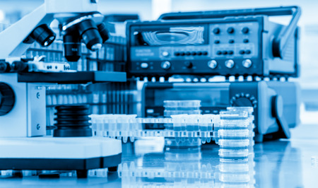 Photo for Physical chemistry laboratory equipment - Royalty Free Image