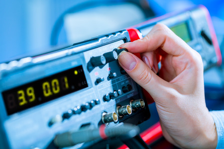 use of electronic measurement instruments