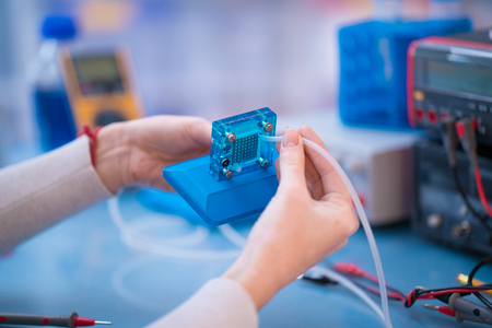 Hydrogen fuel cell tested in Center for Climate and Renewable Energy Solutions