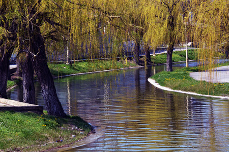 Water channel perfect for boating